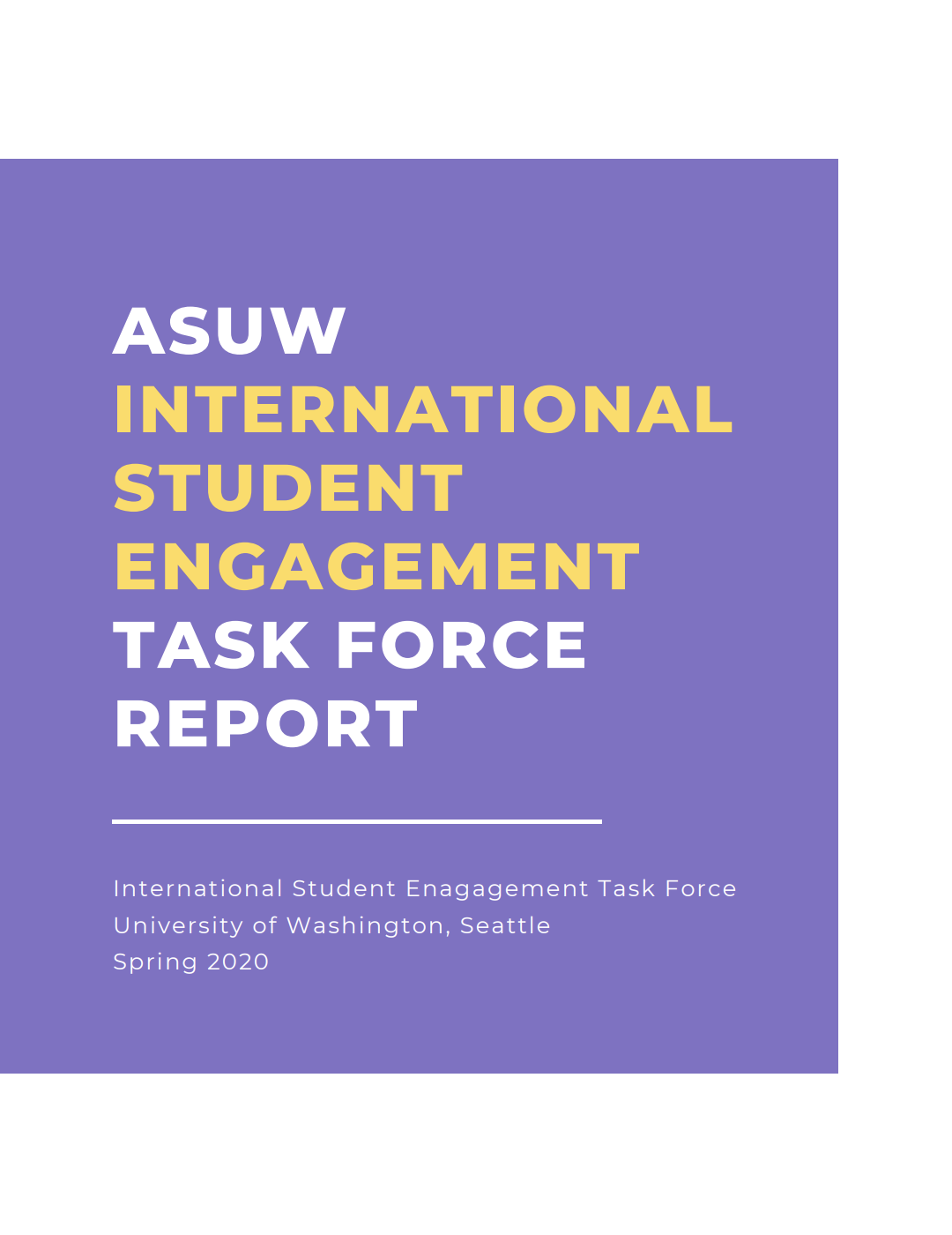 International Student Engagement and Advocacy